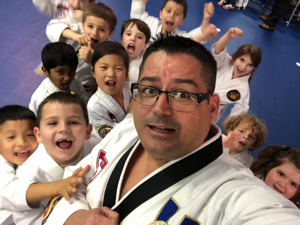 JFK Martial Arts students